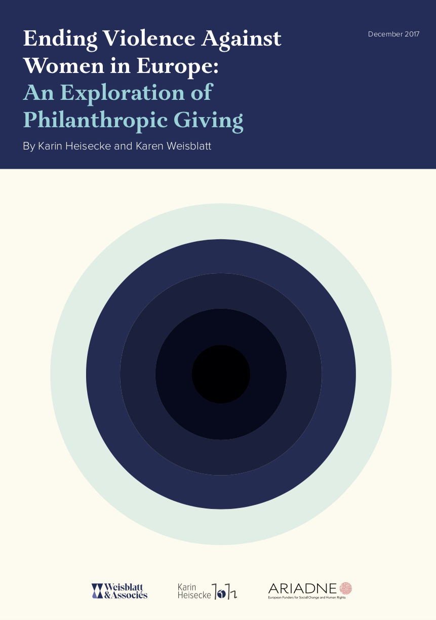 Ending Violence Against Women in Europe: An Exploration of Philanthropic Giving