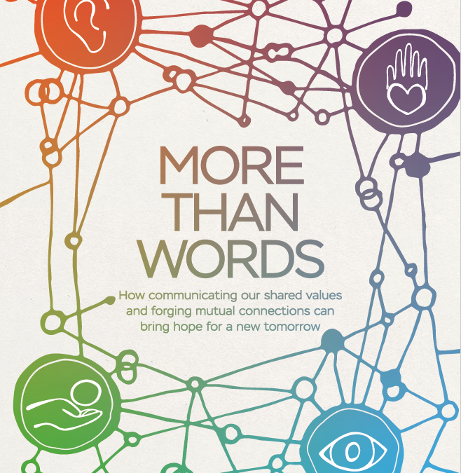 More Than Words: Building on Shared Values in Strategic Communications