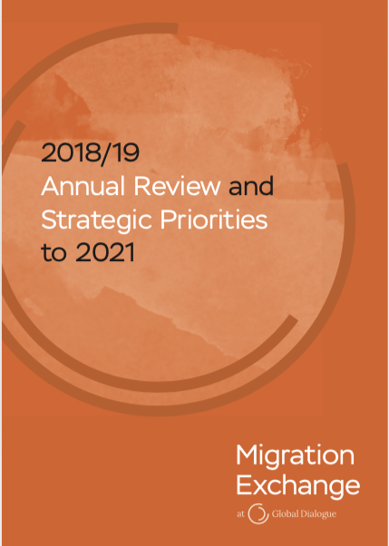 Migration Exchange Annual Review and Priorities 2017 to 2019