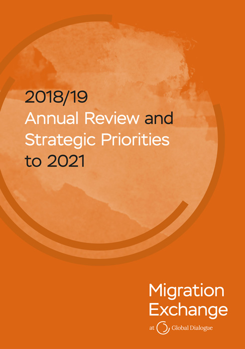 Migration Exchange 2018/19 Annual Review and Strategic Priorities to 2021